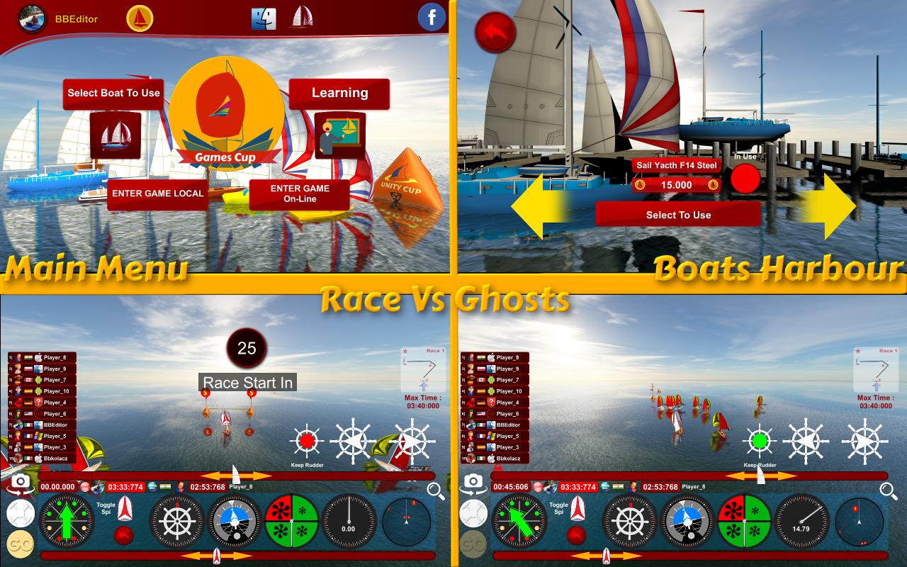 (Sailing Race Regatta [Download])