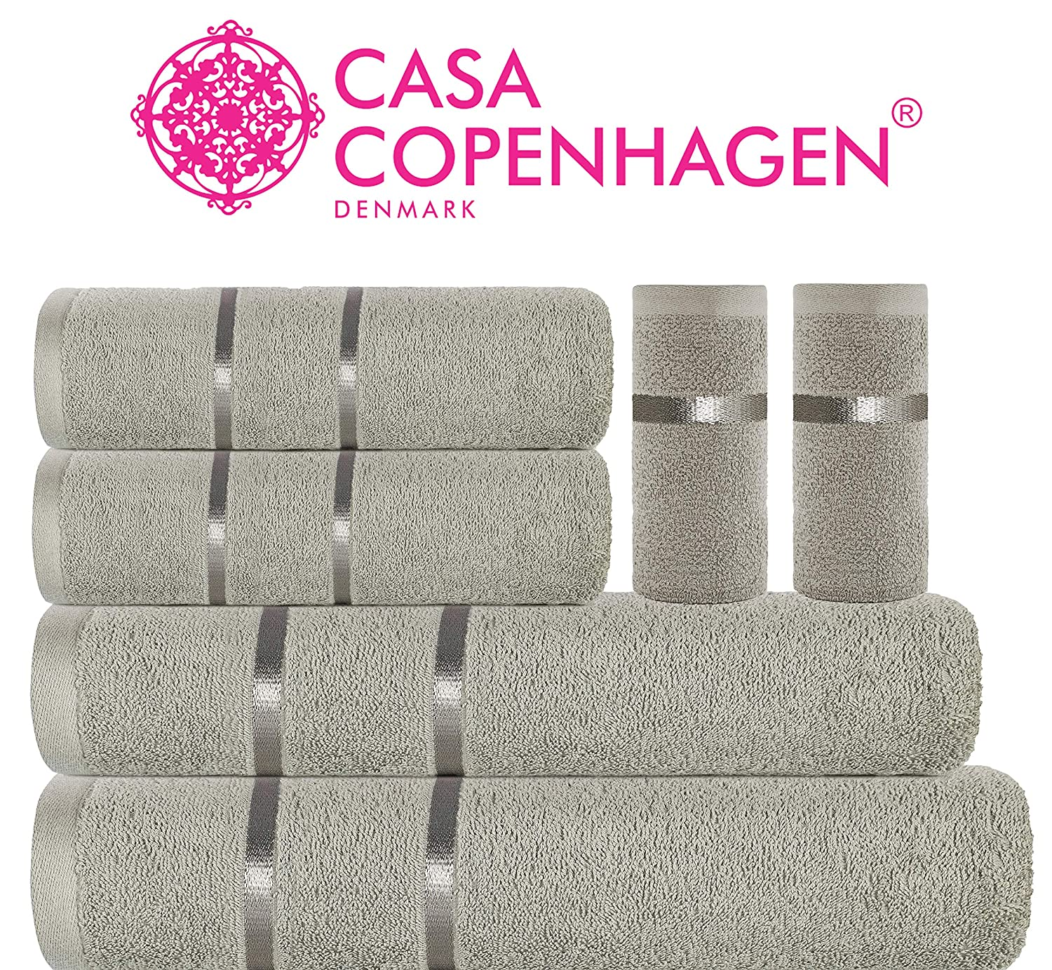 2-Pc Feathers Hand Towel Set