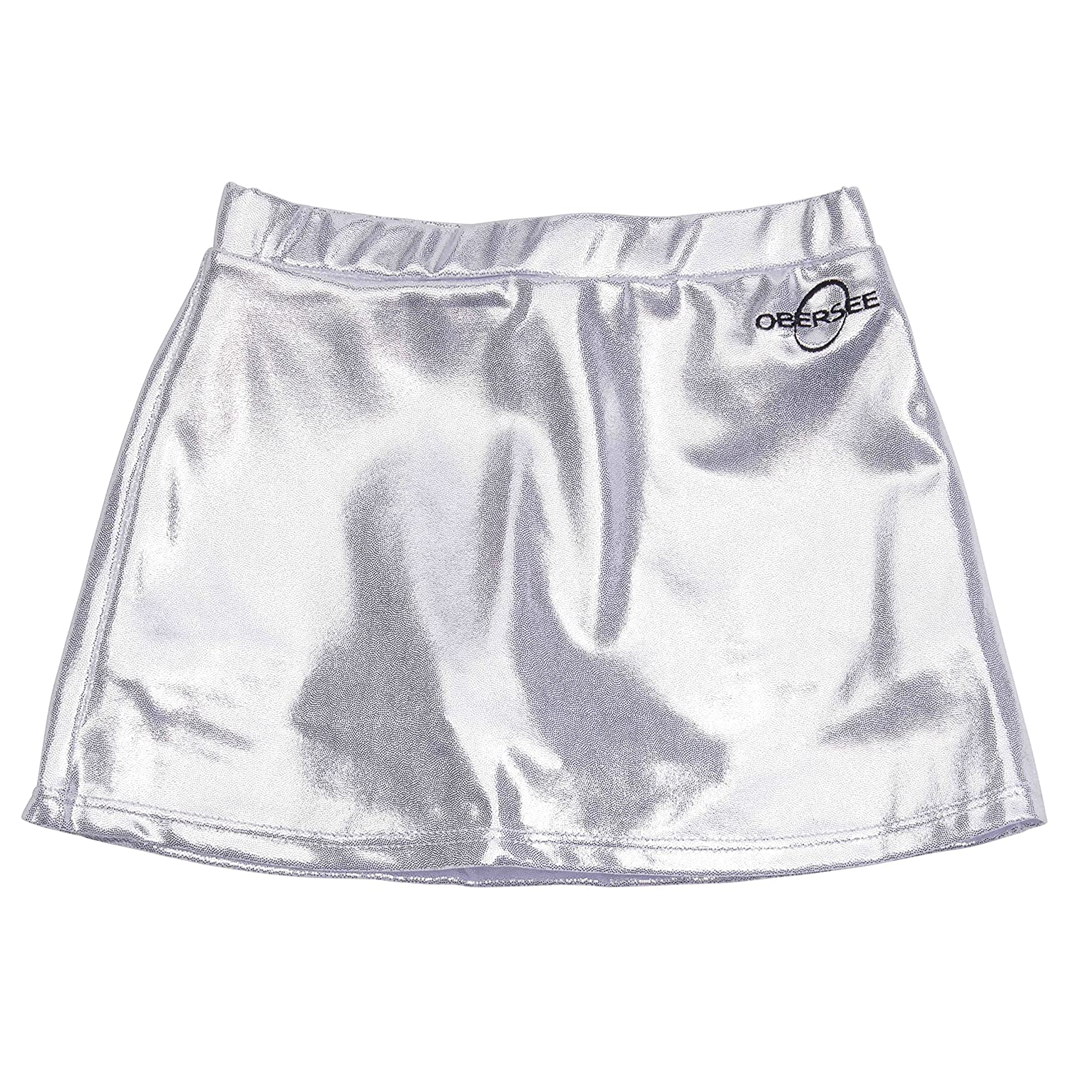 Silver Medium Obersee Cheer and Dance Skirt, Purple, Small