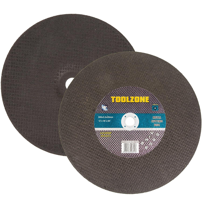 10x Metal Cutting Discs | 12' Cutting/Slitting Blades White Hinge