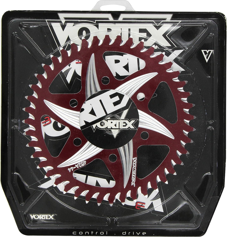 Vortex 608ZR-44 Red 44-Tooth Rear Sprocket