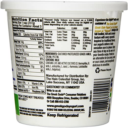 19 Unique the Greek Gods Greek Yogurt