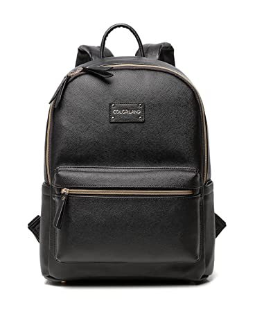 Amazon.com : Designer Diaper Bag, Perfect Faux Leather Backpack ...