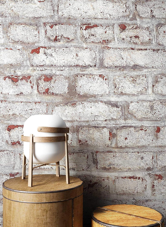papel pintado ladrillo NEWROOM papel pintado de piedra azul muro piedra natural moderno papel amarillo buhardilla Industrial efecto piedra