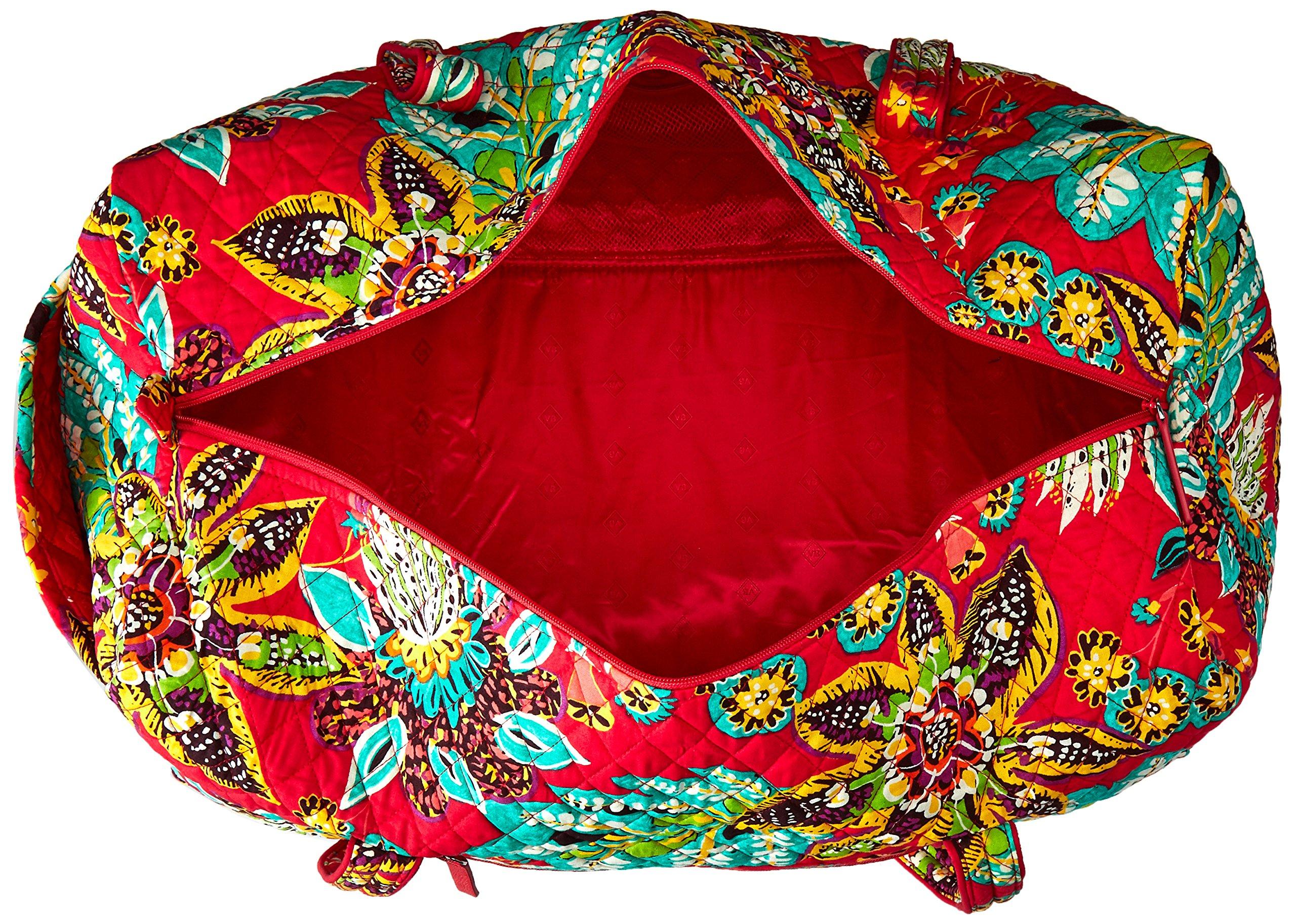 Women's Large Duffel, Signature Cotton, Rumba by Vera Bradley (Image #5)