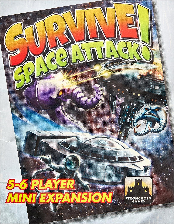 Stronghold Games STG09005 Survive Space Attack - Juego de Cartas de 5 a 6 Jugadores: Amazon.es: Juguetes y juegos