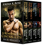 A Romance In Central City Box Set, Novellas 1-4