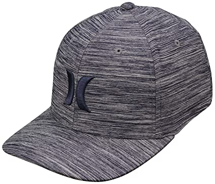 3cca0d8d952 Amazon.com  Hurley One and Textures Hat - Obsidian Heather - S M ...
