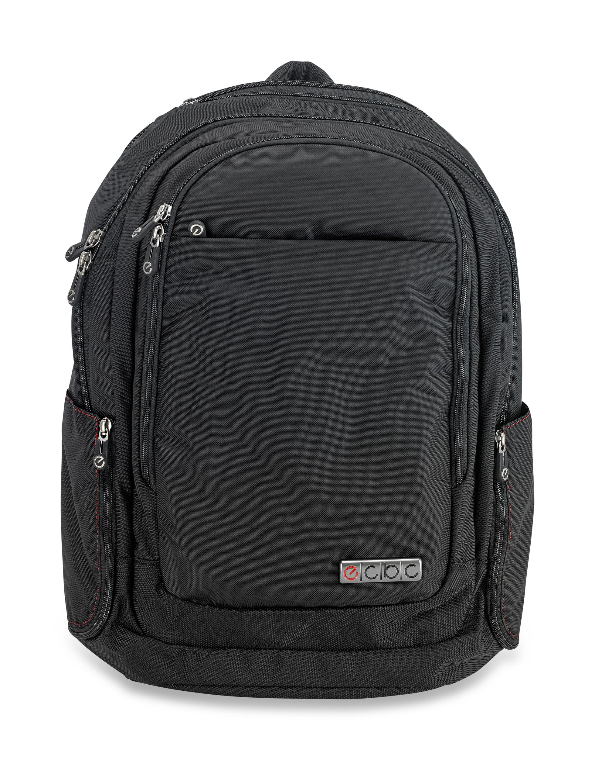ECBC Javelin - Backpack Computer Bag - Black (B7102-10) Daypack for Laptops, MacBooks & Devices Up to 16.5'' - Travel, School or Business Backpack for Men & Women - Premium Quality, TSA FastPass Friendly by ECBC