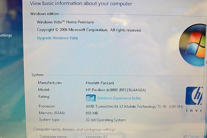 AMD Turion(tm) 64 X2 TL-58 - drivers for windows 7