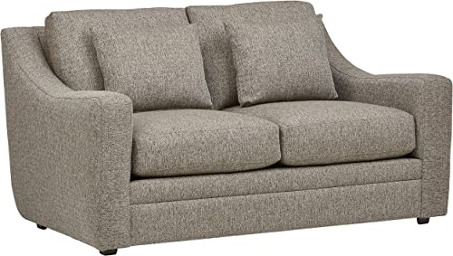 Stone Beam Calhoun Fabric Loveseat, 62.5 W, Tweed