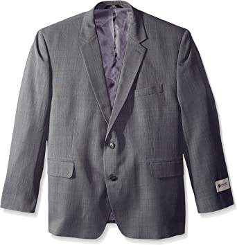 Haggar Mens Big and Tall Big /& Tall Performance Tic Weave Classic Fit Suit Separate Pant