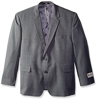f1beea5063 Haggar Men s Big-Tall Performance Stria Gabardine Classic Fit Suit Separate  Coat