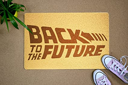 Amazoncom Back To The Future Doormat Welcome Back To The
