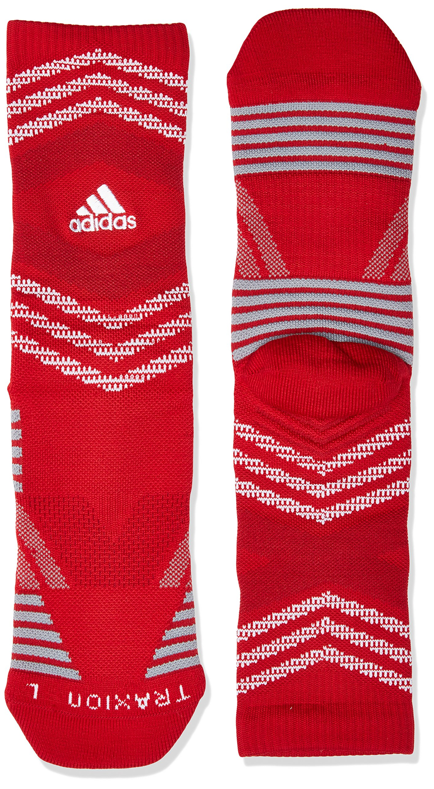 adidas Unisex Speed Mesh Basketball/Football Team Crew Sock