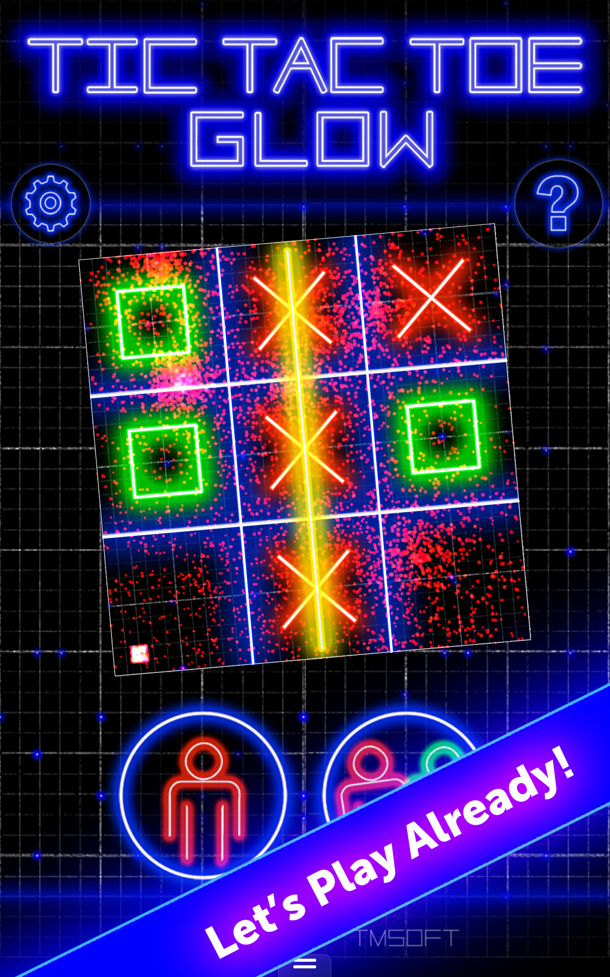 Amazon.com: Tic Tac Toe Glow by TMSOFT: Appstore for Android