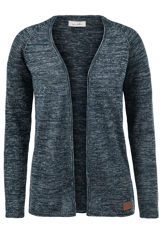 BlendShe Danila Women's Cardigan Fine Knitted Jacket with V-Neck