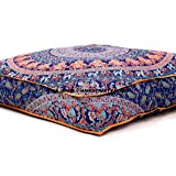 mandala indiano pavimento cuscino quadrato pouf ottomano Daybed oversize sedere cuscino cotone ottomano pouf cuccia per cani/animali domestici venduto da handcraft-palace