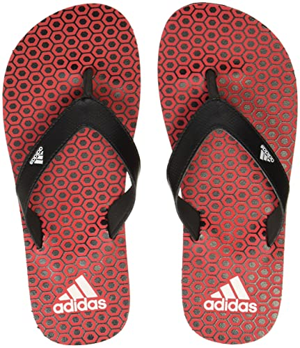 f8689580d Adidas Boy s Beach Print Max Out Scarle Black White Flip-Flops and House  Slippers - 4 UK India (36 EU)  Buy Online at Low Prices in India - Amazon.in