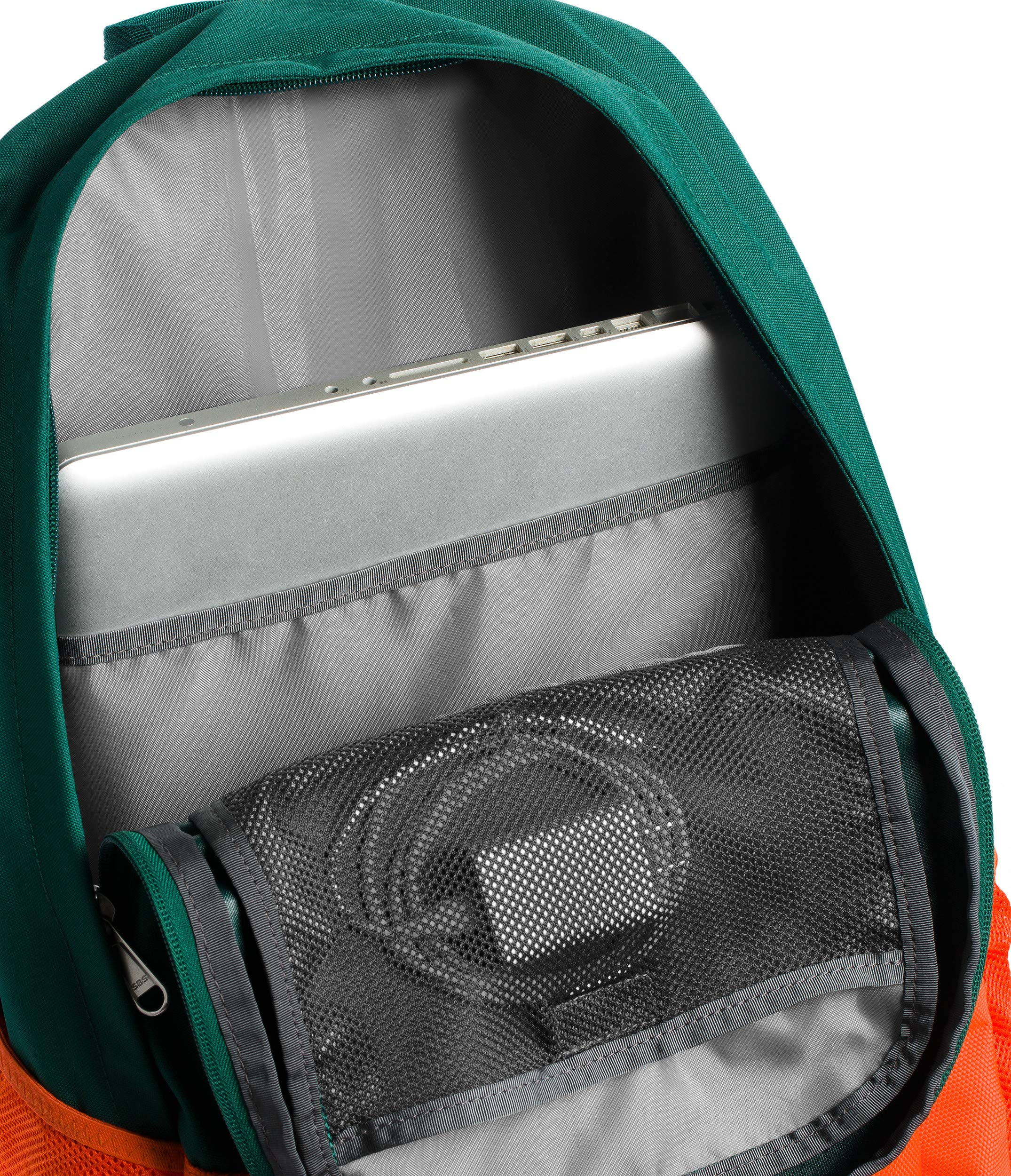 The North Face Wise Guy Backpack - Persian Orange & Botanical Garden Green - OS by The North Face