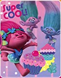 Dreamworks Trolls Fleece Throw Blanket - Soft, Warm and Comfortable (Super Cool)