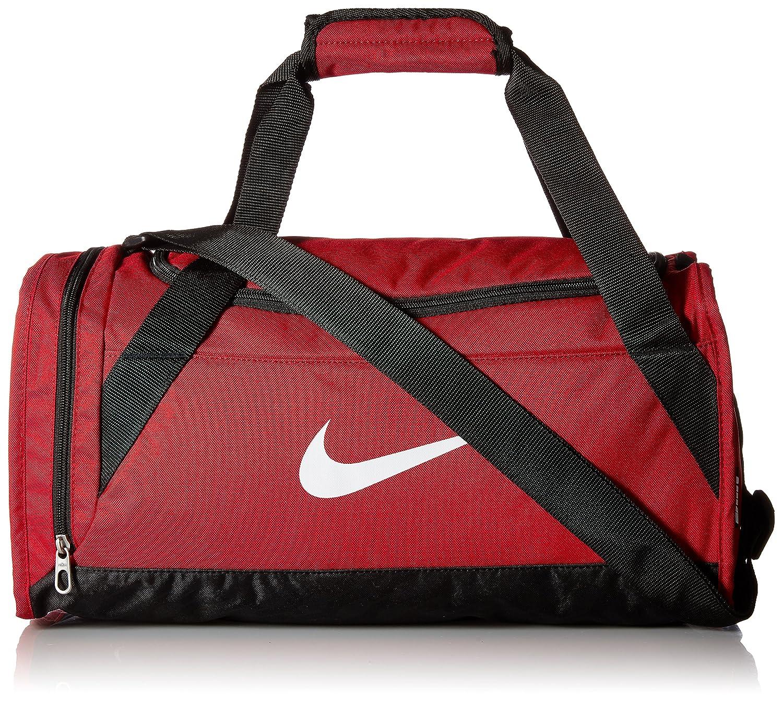 Nike Brasilia 6 Duffel Bag Gym Red Black White Size X-Small