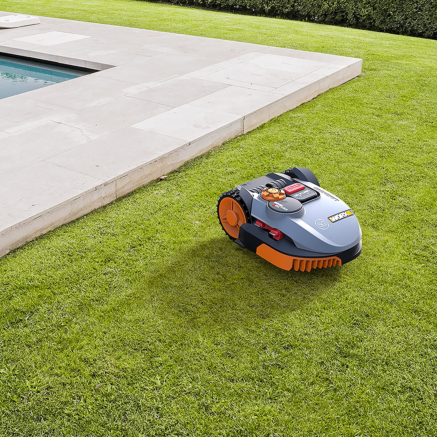 Worx wr103si País roid Césped Robot cortacésped sg500i hasta 500 ...