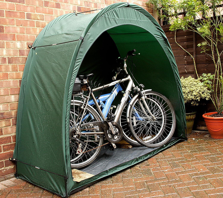 Sonstige Bike Cave - Tienda protectora para bicicletas, color verde: Amazon.es: Deportes y aire libre