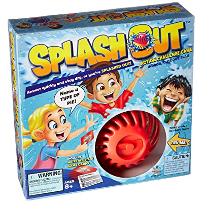 Splash Out Game, Multicolor: Toys & Games [5Bkhe0506574]