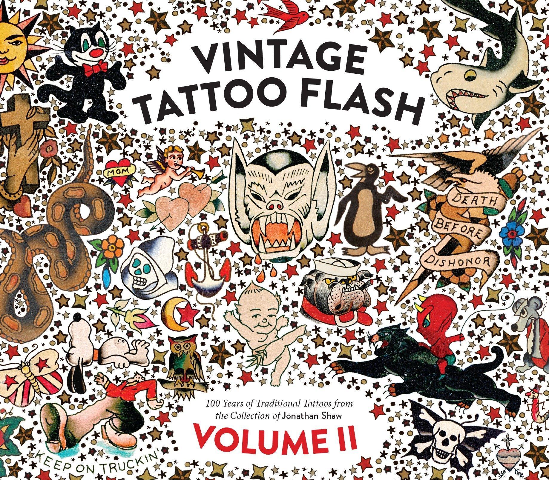 Vintage Tattoo Flash Volume 2 pdf
