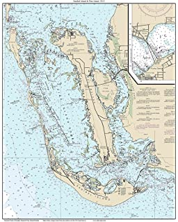 Cape San Blas Florida Map.Amazon Com Vintography 8 X 12 Inch 1897 Us Old Nautical Map Drawing
