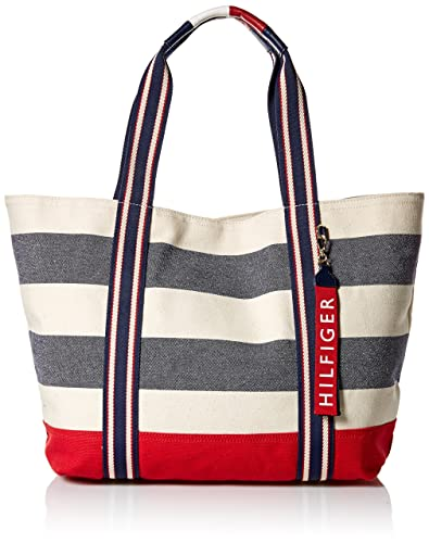 ac320c9fa0ddd Tommy Hilfiger womens Bag for Women Canvas Item Tote Multi Size  One Size