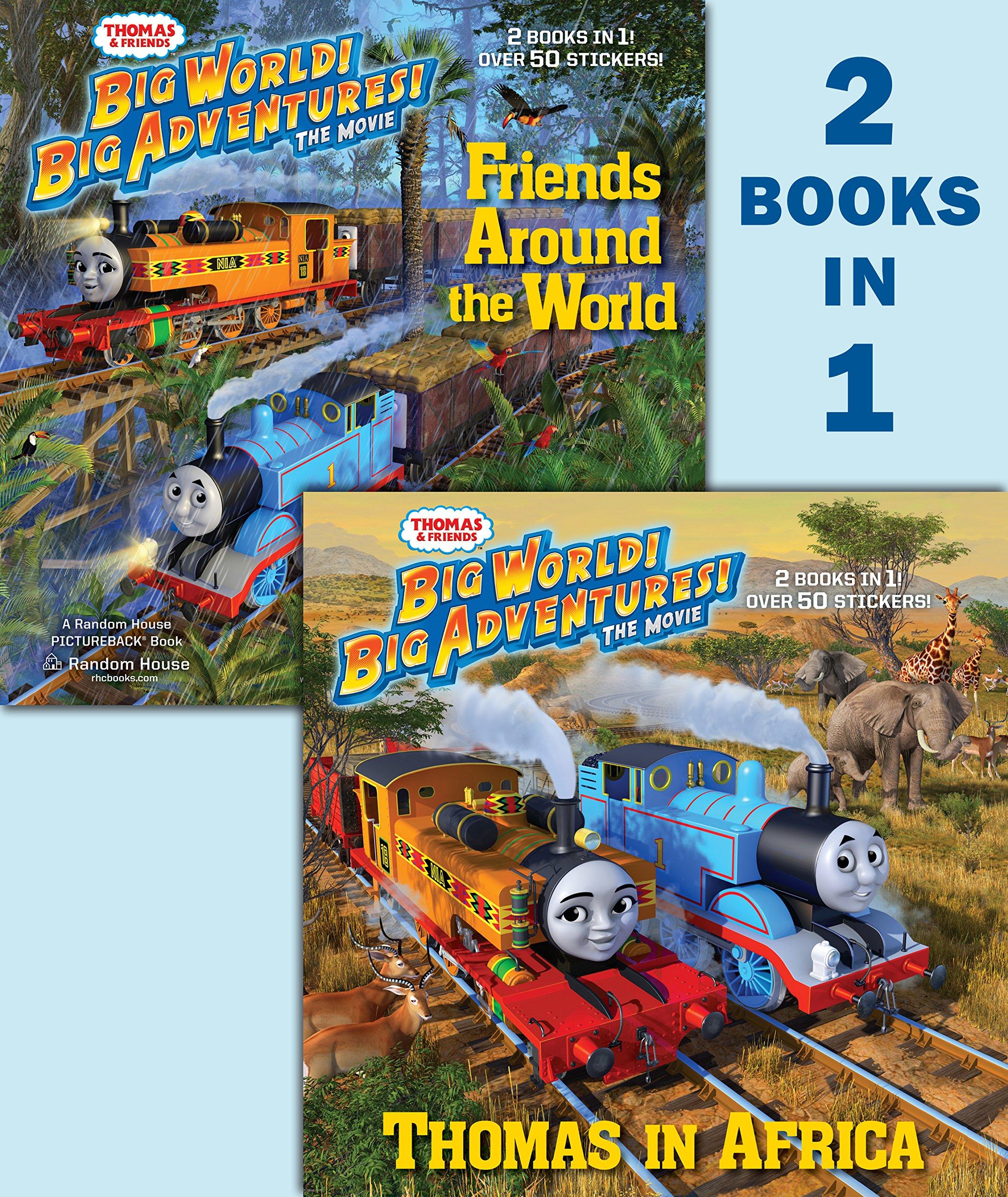 Thomas in Africa/Friends Around the World (Thomas & Friends) (Pictureback(R)) pdf epub