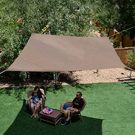 Sol Armor 10 Square Shade Sail, Cabo Sand