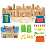 Liberty Imports Beach Builder Create-A-Sand Castle Building Kit for Kids (18 Pcs)