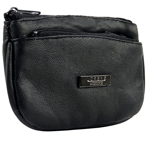 NAPPA LEATHER COIN PURSE (1464) BLACK