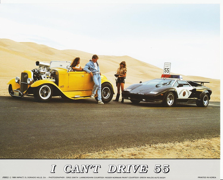 Amazon Com Wall Decor I Can T Drive 55 Classic Lamborghini Art Print Poster 16x20 Posters Prints