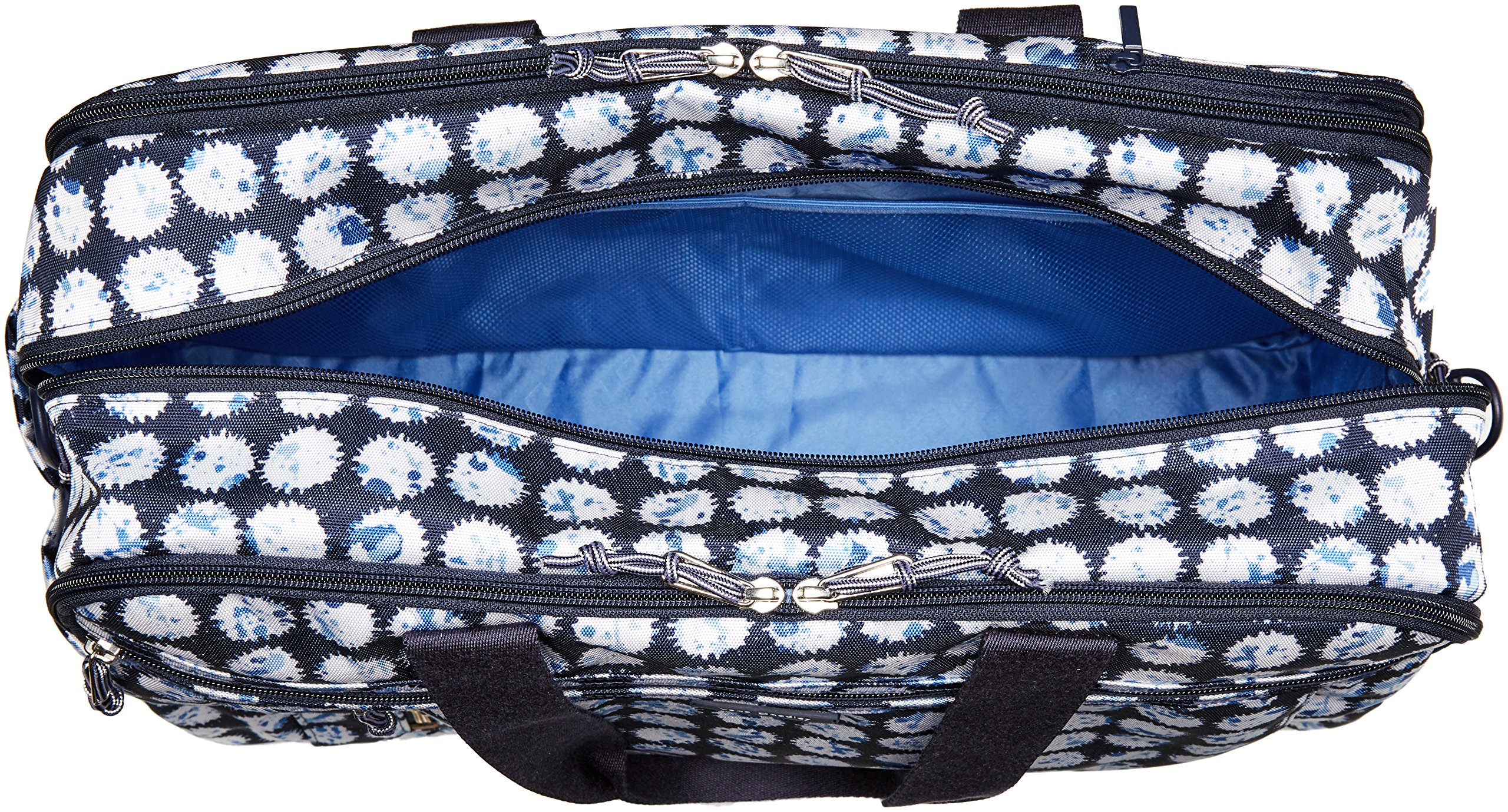 Vera Bradley Lighten up Weekender Travel Bag, Polyester, Splash Dot by Vera Bradley (Image #5)