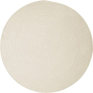 product image for Colonial Mills Boca Raton Area Rug 7x7 White