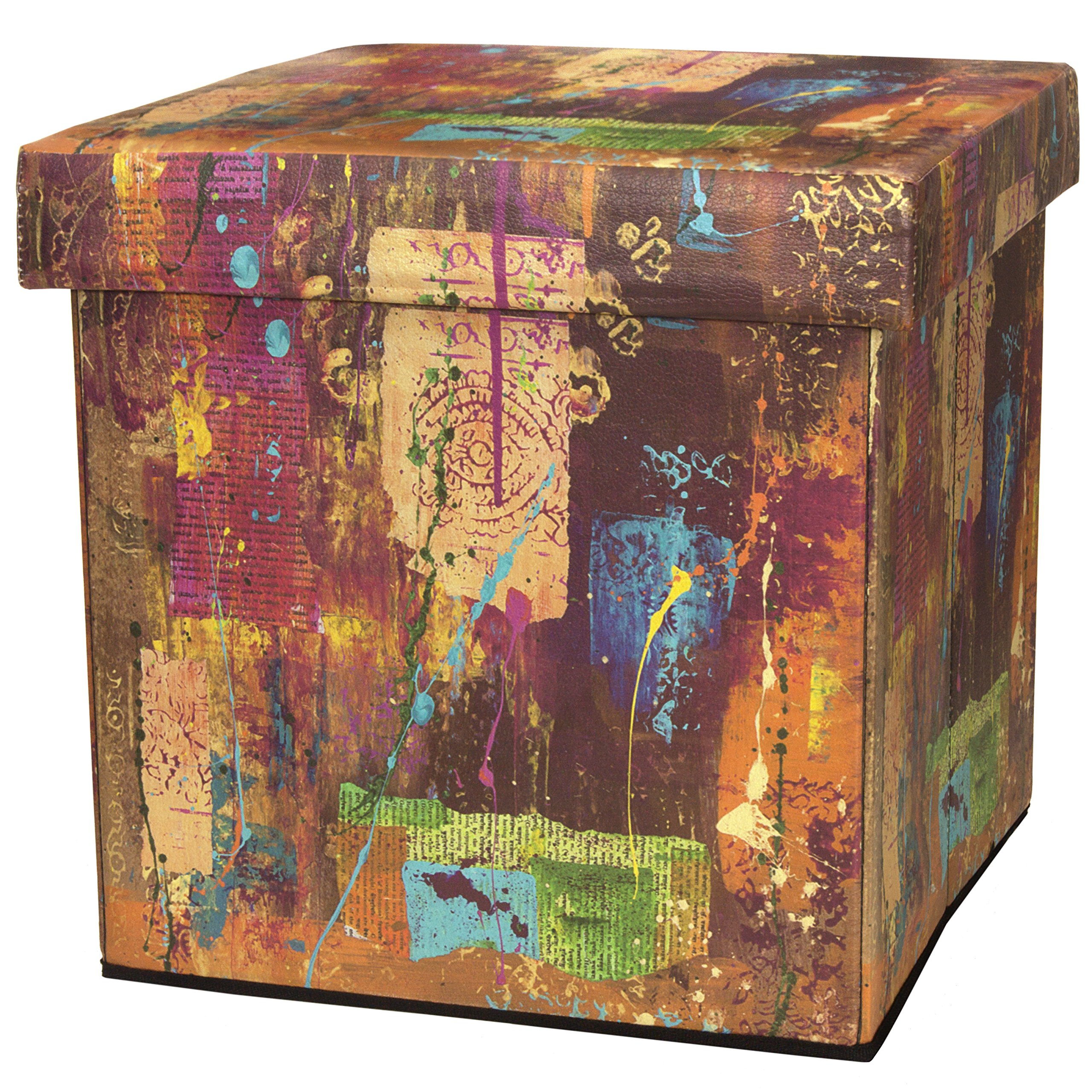 Oriental Furniture India by Gita Storage Ottoman by ORIENTAL FURNITURE (Image #1)
