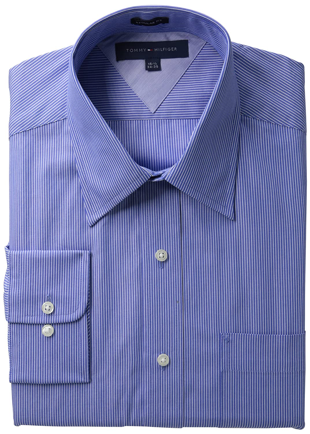 Tommy Hilfiger Mens Long Sleeve Fancy Point Collar