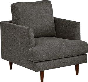 Amazon Brand – Rivet Goodwin Modern Living Room Accent Chair, 32.3
