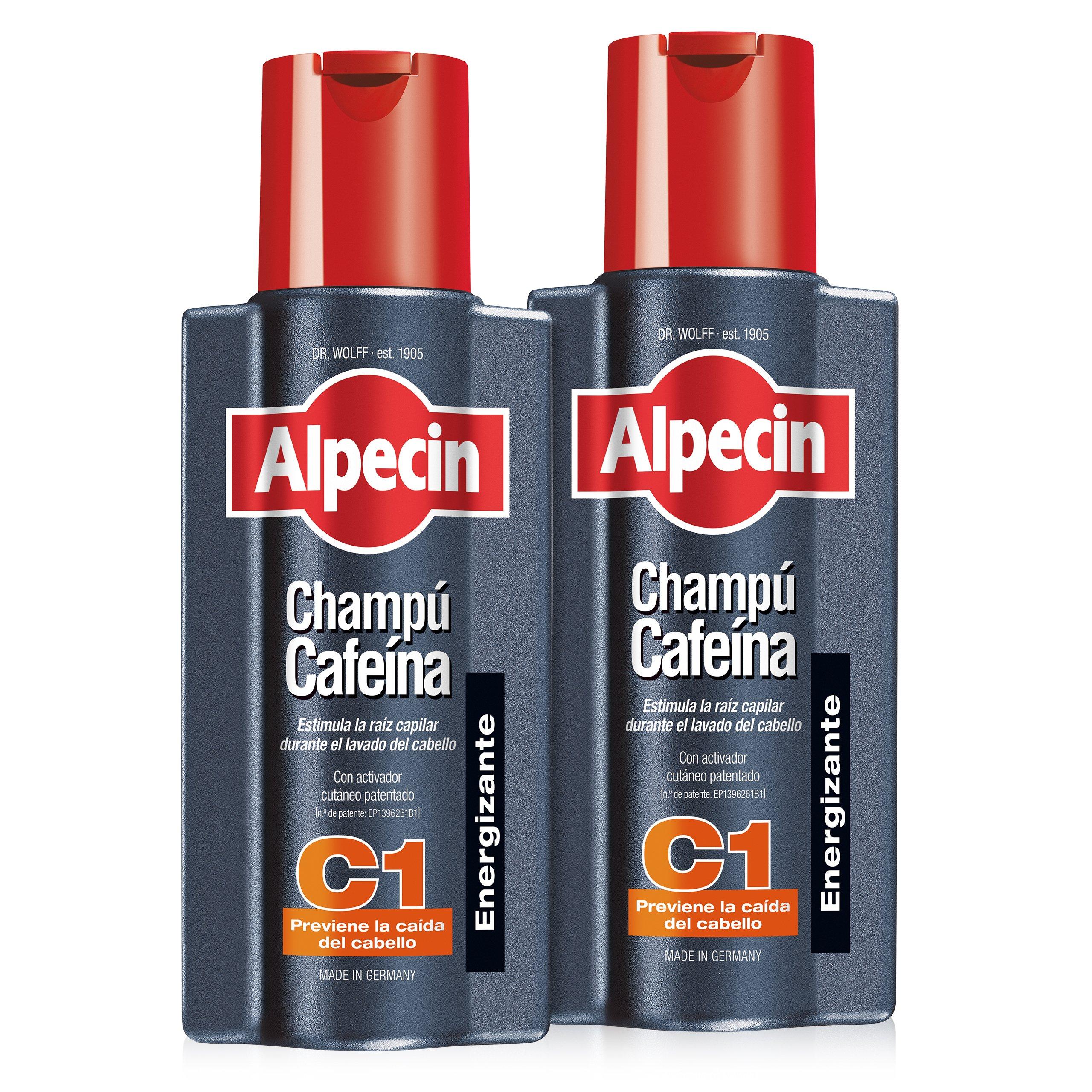 Alpecin Champú Cafeína C1, Champú anticaída - 2 x 250ml=500ml product image