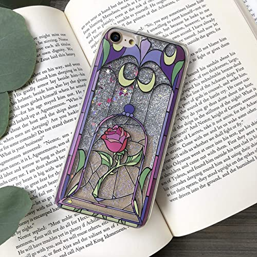 best service d6a82 2d180 Enchanted Rose Silver Glitter iPhone Case for iPhone 6, 7, 8, 7 Plus, 8 Plus