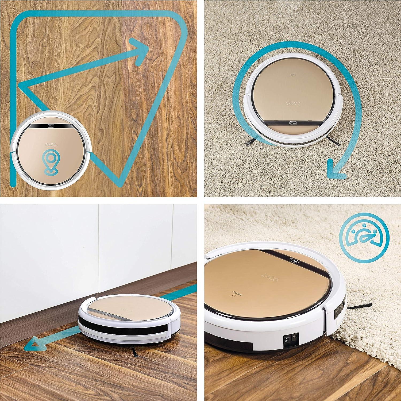 ZACO V5sPro - 2 en 1 robot aspirador friegasuelos, 4 modos de ...