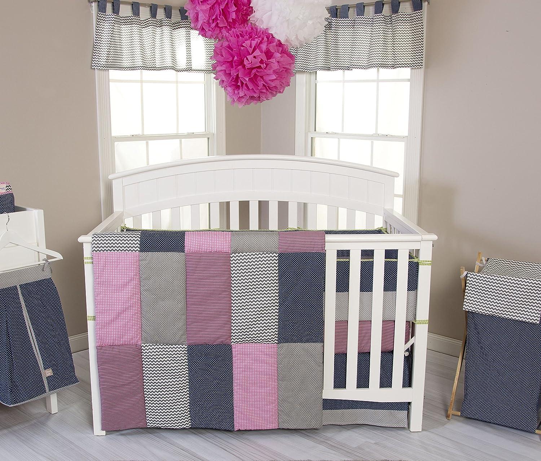 Trend Lab 3 Piece Perfectly Pretty Crib Bedding Set by Trend Lab   B00R4PX0G0