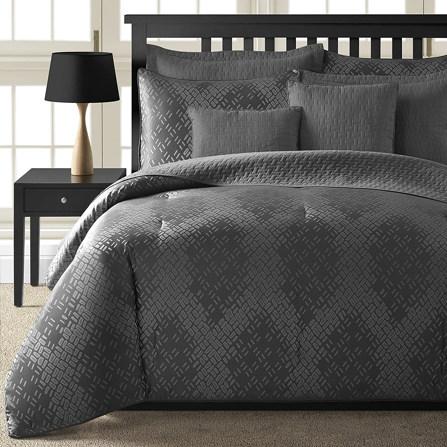 8-piece Comforter and Coverlet Set