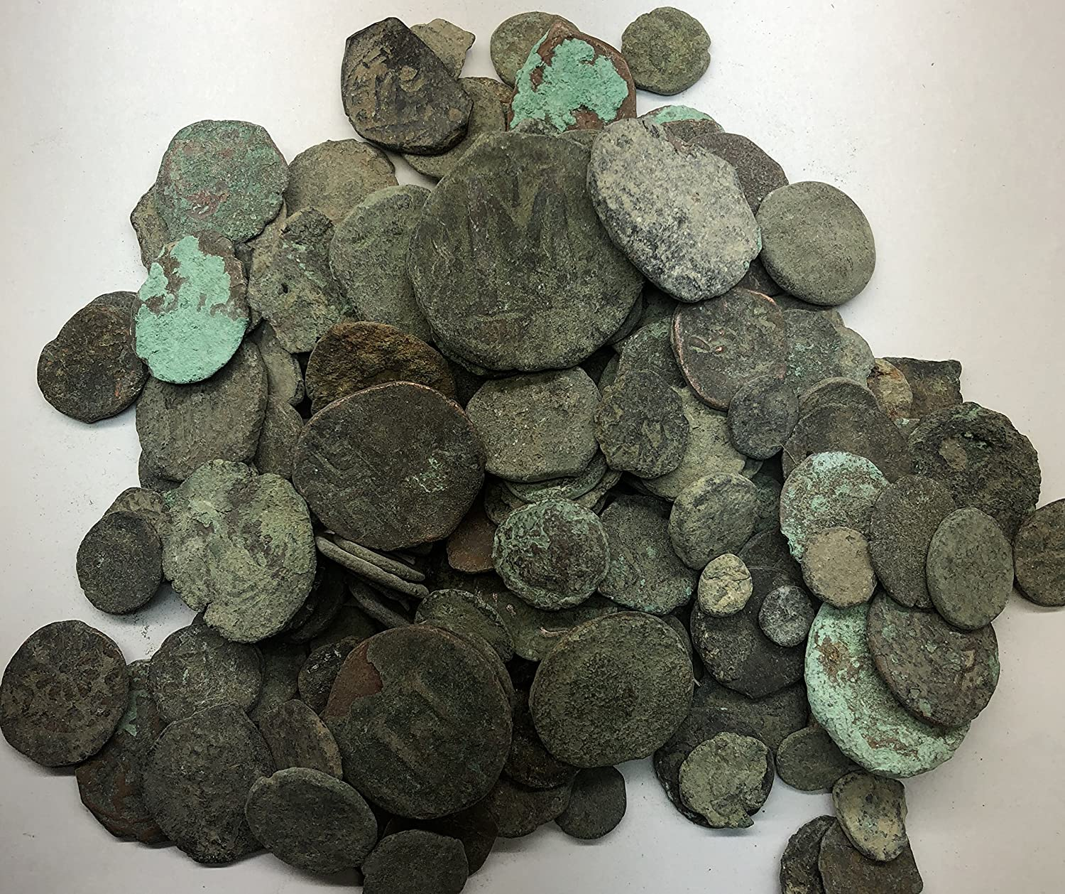 SILVER COINS INCLUDED! GENUINE UNCLEANED ANCIENT ROMAN COINS GOOD QUALITY