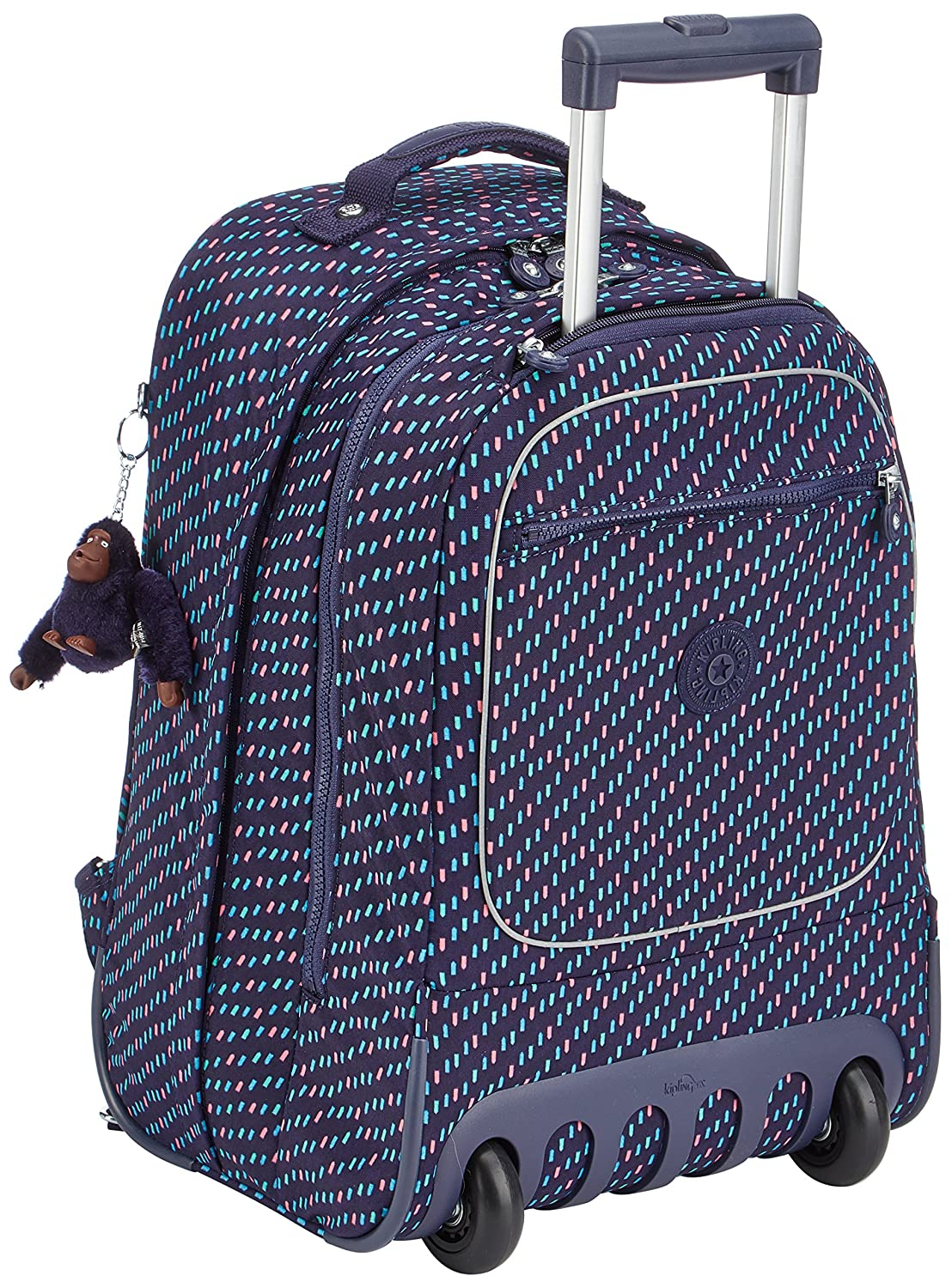 Kipling CLAS Soobin L Cartable, 49 cm, 28 liters, Bleu (Blue Tan Block) K1535930G