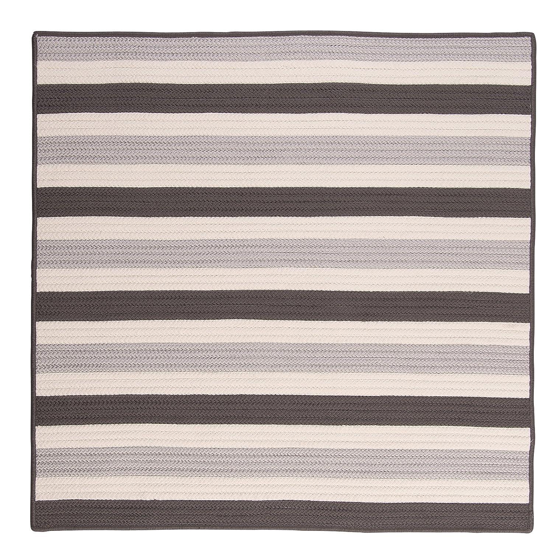 Black White Colonial Mills TR89R024X120S Stripe It Rug 2 by 10-Feet